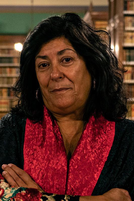 Retrato de Almudena Grandes