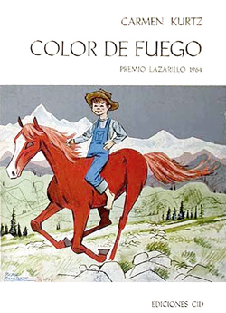 Portada de Color de fuego