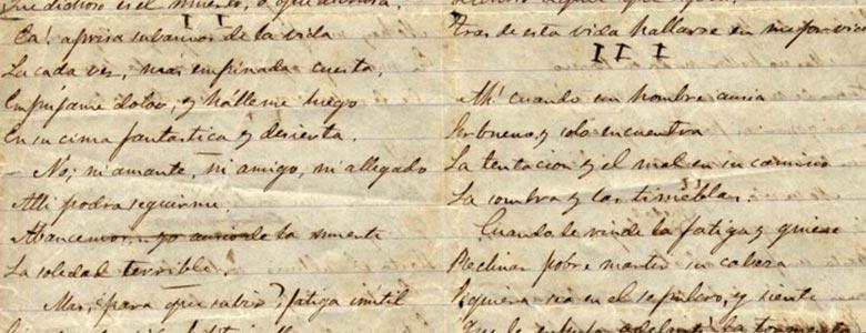 Aparecen textos inéditos de Rosalía de Castro