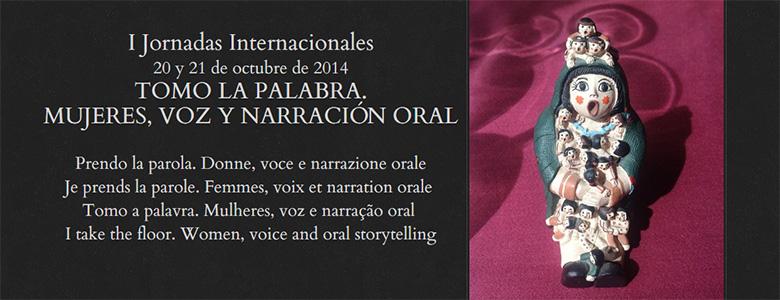 Tomo la palabra. Mujeres, voz y narración oral.