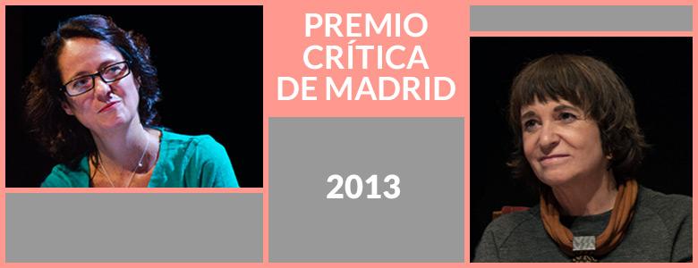 Premio de la crítica de Madrid para Marta Sanz y Rosa Montero