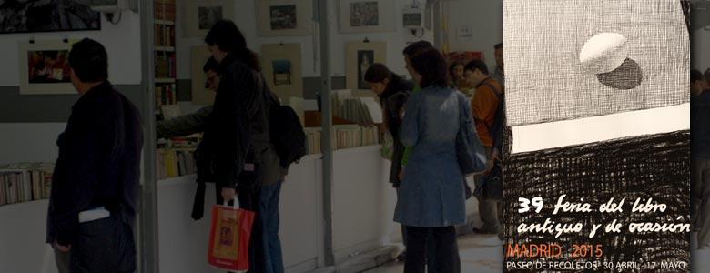 XXXIX Feria del Libro Antiguo y de Ocasión