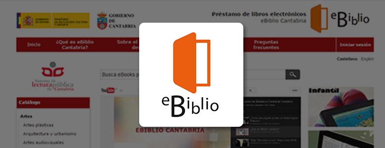 Libros digitales en la biblioteca