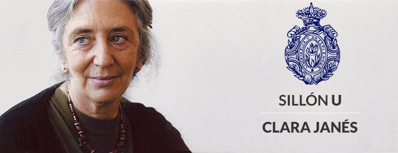 Clara Janés, Sillón U de la Real Academia Española
