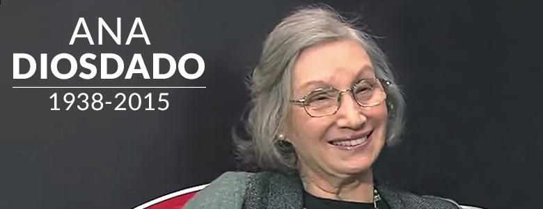 Fallece Ana Diosdado